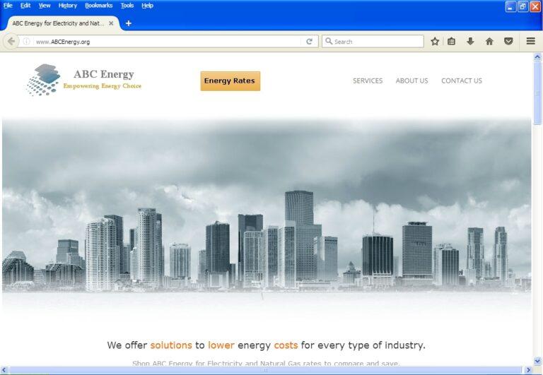 demo energy website