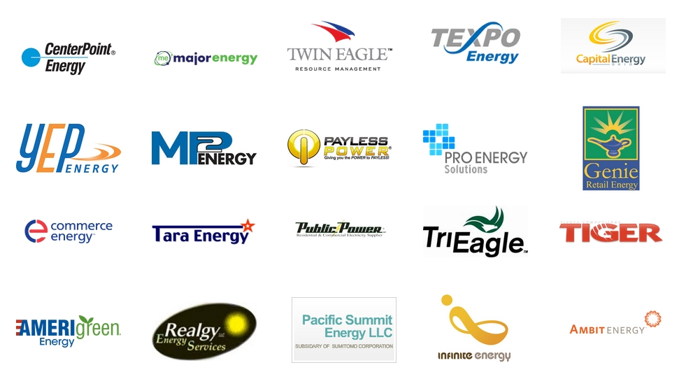 suppliers of energy